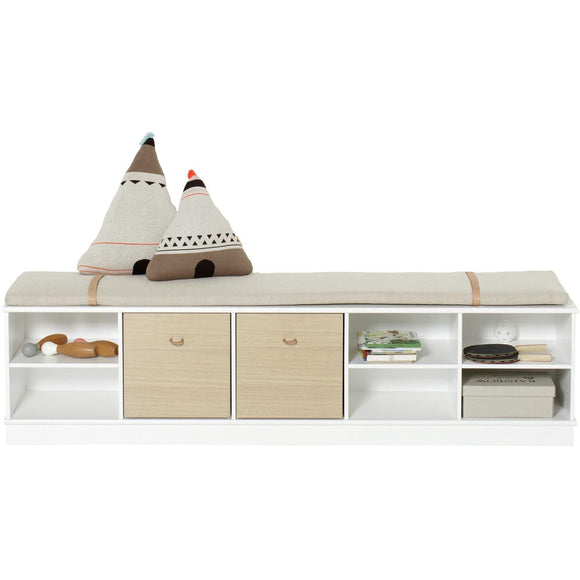 Oliver Furniture Standregal, Horizontal, 5x1, Wood Collection