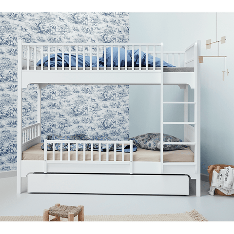 Etagenbett mit gerader Leiter, Seaside Collection