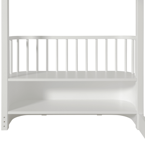 Oliver Furniture Hochbett Wood Collection weiss