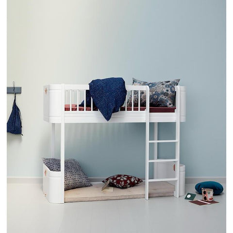 Oliver Furniture Mini+ Wood Collection Halbhohes Bett