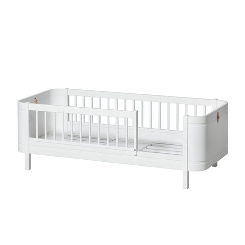 Oliver Furniture Mini+ Wood Collection Babybett Cot weiss