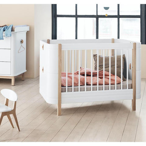 Oliver Furniture Mini+ Wood Collection Babybett Cot