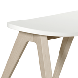 Oliver Furniture Hocker Pingpong Wood Collection
