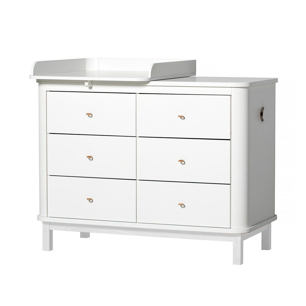 Oliver Furniture Wickelkommode Wood Collection weiss