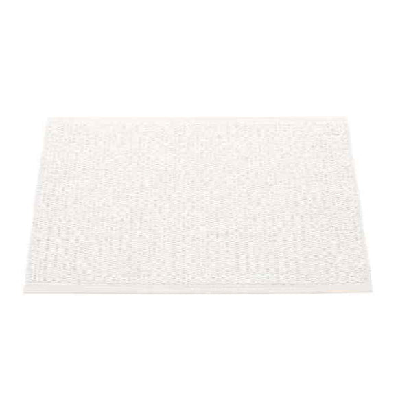 Pappelina Svea white metallic 70x50 Outdoor Carpet Bathroom Carpet Kitchen Carpet