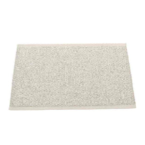Pappelina Stone Metallic Fossil Grey 70x50 Outdoor Carpet Teppich Küchenteppich Entrance Carpet