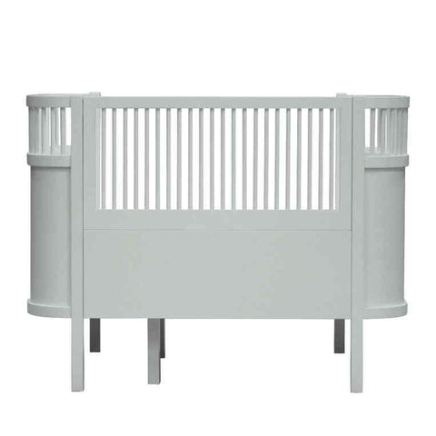 Baby und Juniorbett, mist green