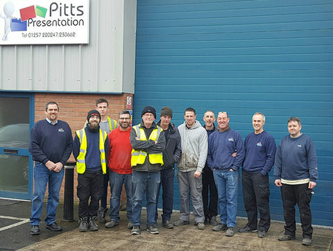 Pitts UK factory in Chorley Lancashire