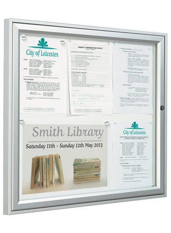Exterior Weatherproof Tradition Wall Mounted Noticeboard