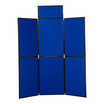 6 Panel Folding Display Stand PVC Frame