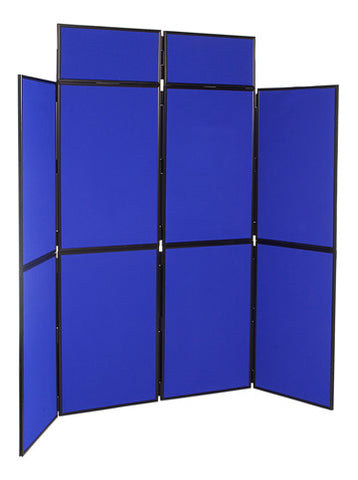 8 Panel Folding Display Stand PVC Frame