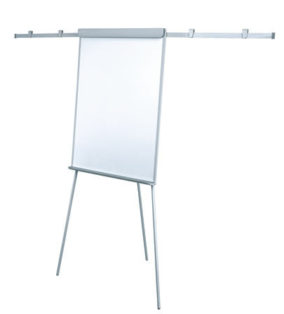 Office PRO Flipchart with Arms