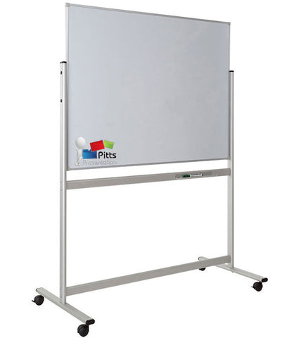 Printed Mobile Whiteboard with Fixed Frame
