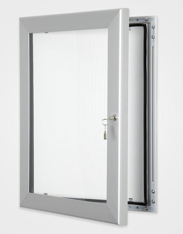 External Lockable Board with waterproof seal for outdoor or indoor use