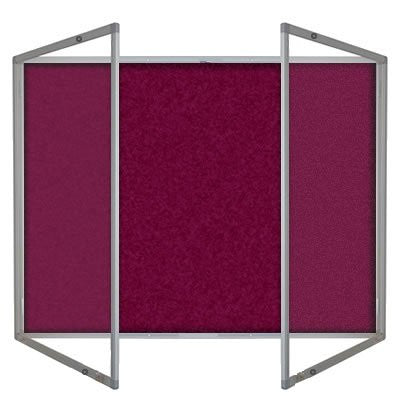 Tamperproof Dual door Burgundy