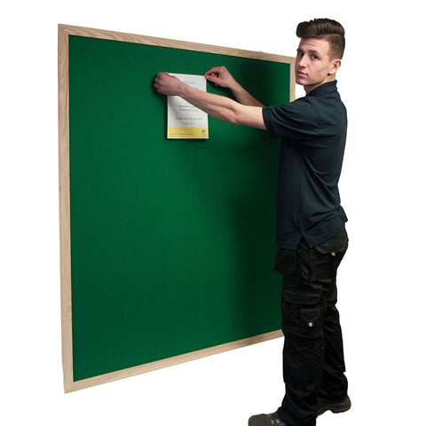Green Felt with Ash Wooden Frame