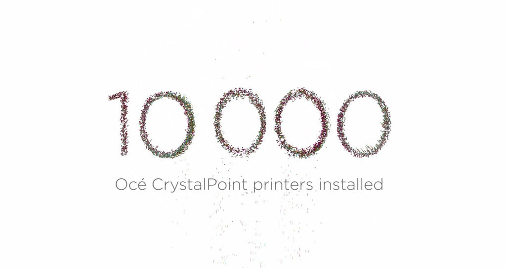 Canon reaches wide format milestone with 10,000 Océ CrystalPoint engines installed worldwide