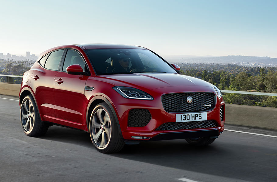Jaguar E-Pace is Wired for Modern Life