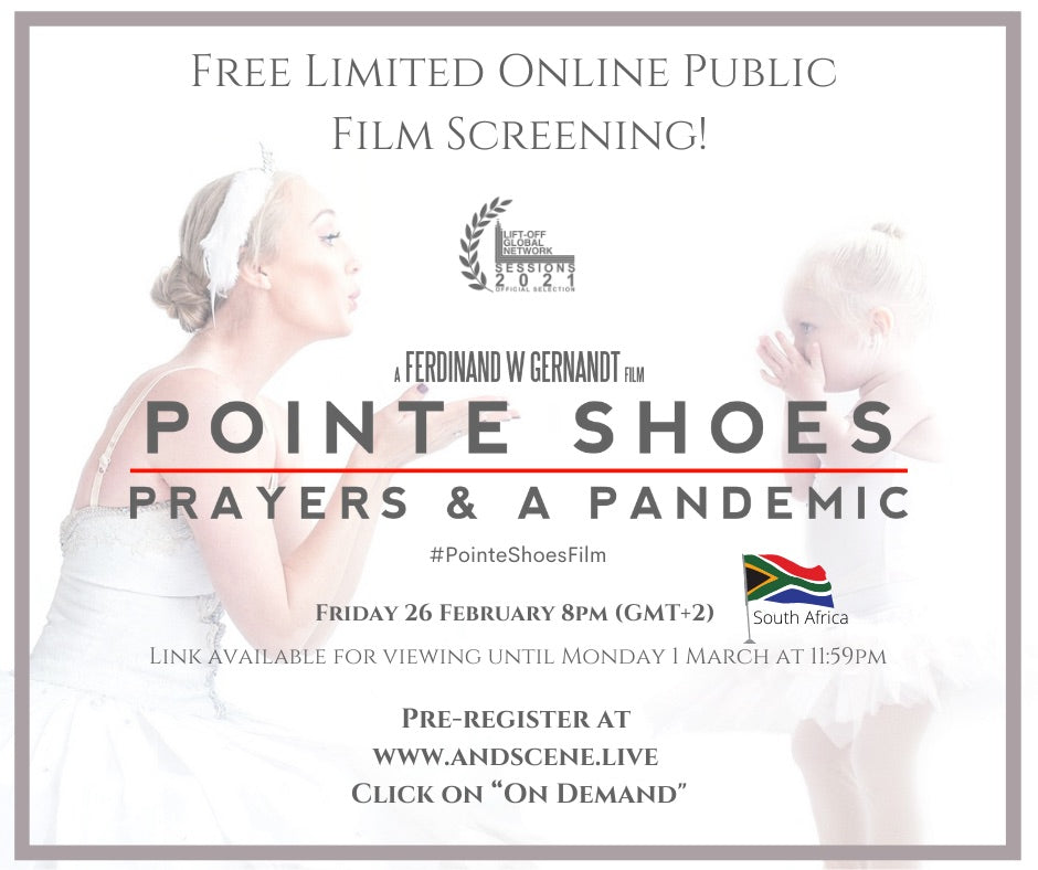 A global pandemic gives rise to an inspiring documentary - Pointe Shoes, Prayers & A Pandemic releases online 26 February