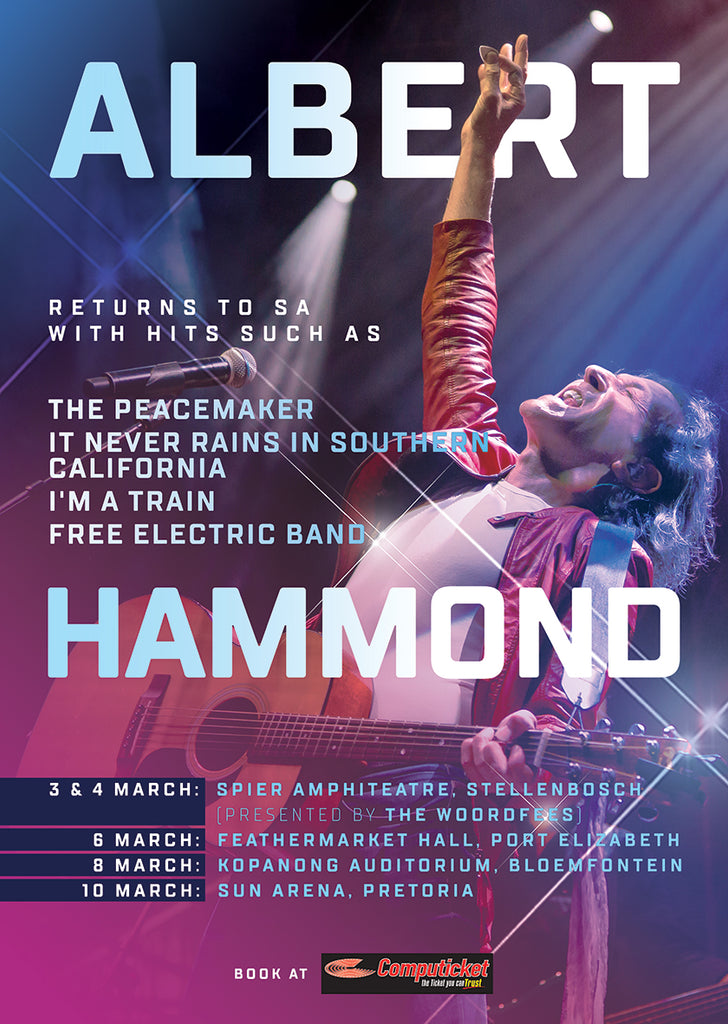 Albert Hammond Returns to SA