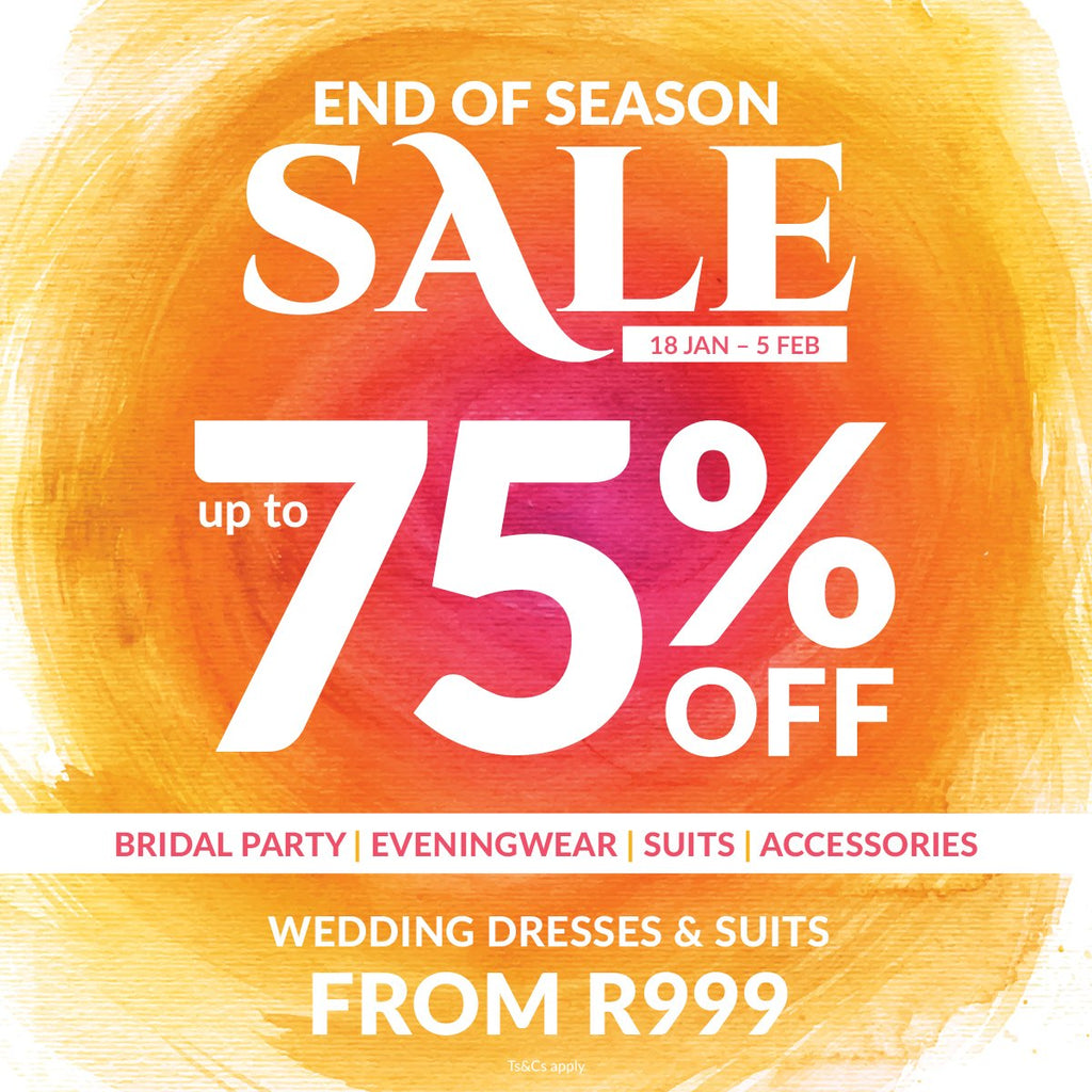 Bride&co's Biggest End Of Season Sale