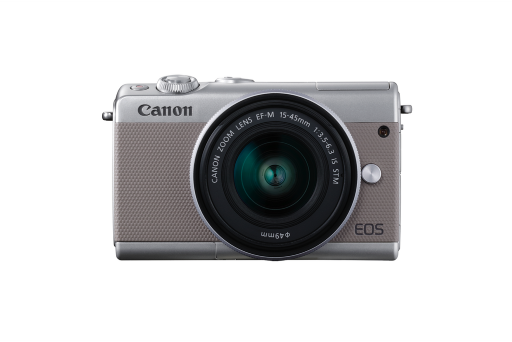 Capture Stories in Stunning Quality with Canon's Stylish New Mirrorless Camera: EOS M100