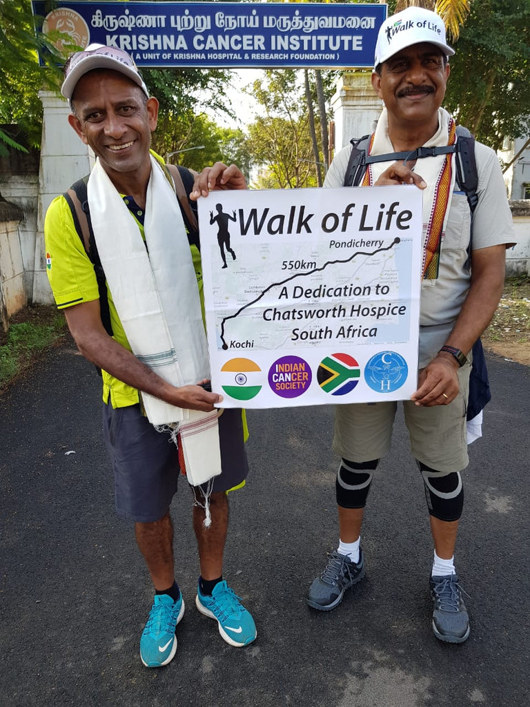 Durban grandad helps raise R 350 000 for charity in epic 574km trek across India