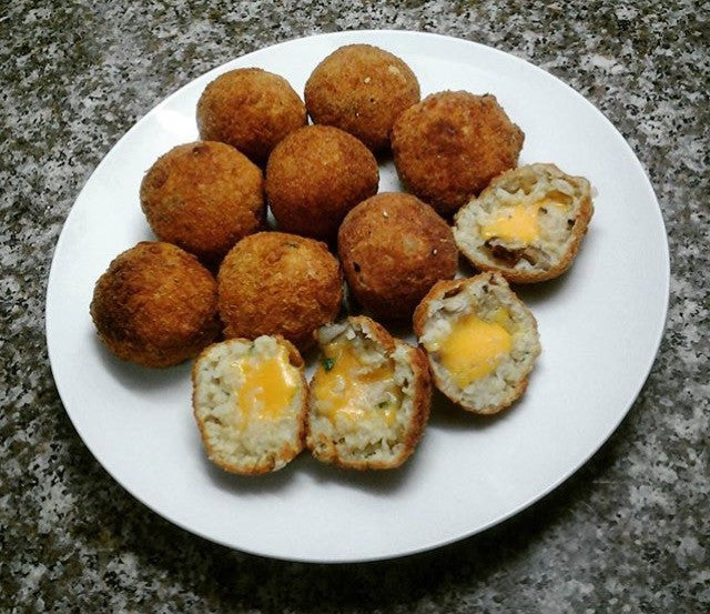 Arancini Recipe by Keenan Blake
