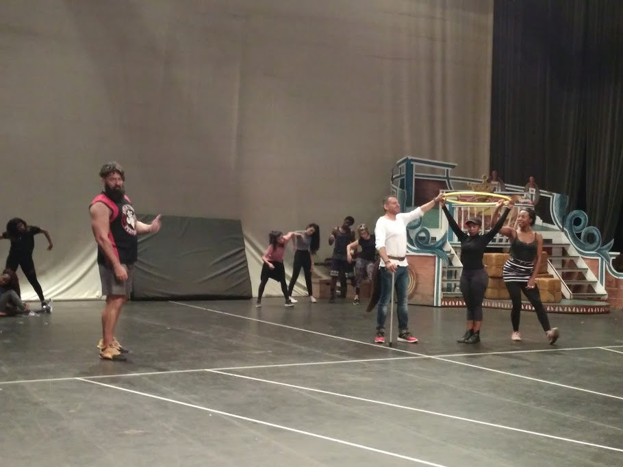 First Stagger-Through of Pinocchio SA Pantomime