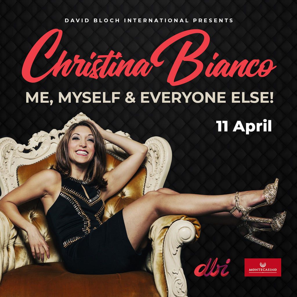 Internationally acclaimed impressionist, singer, actress Christina Bianco at Montecasino for two shows only