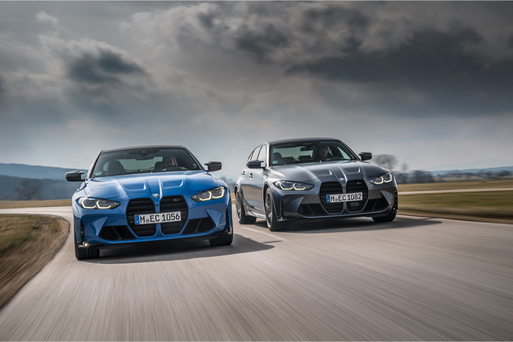 High performance with added variety: M xDrive makes its debut in the BMW M3 and BMW M4