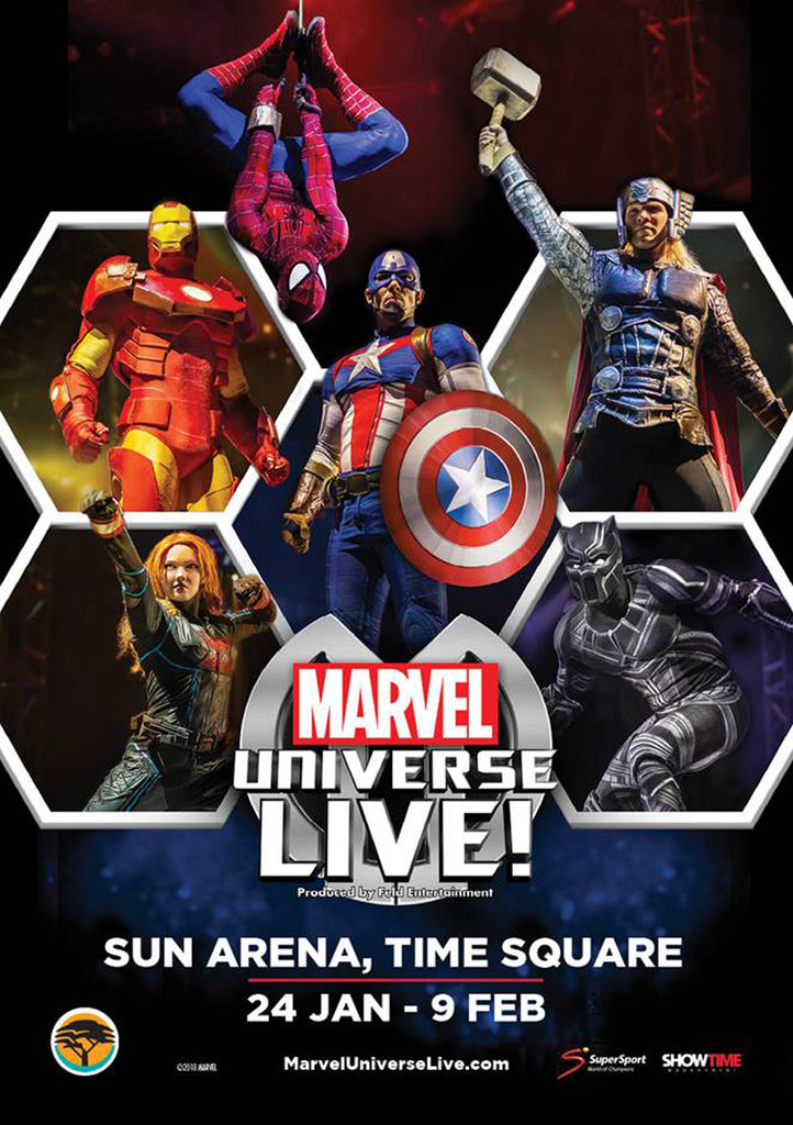 Action-Packed Marvel Universe Live! Heads to SA