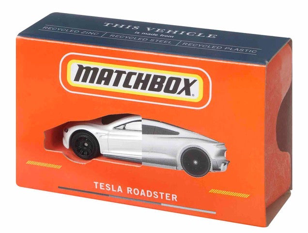 Mattel Unveils First-of-its-Kind, Carbon Neutral Matchbox® Tesla Roadster Die-cast Vehicle Made from 99% Recycled Materials to Serve as Brand Blueprint for the Future