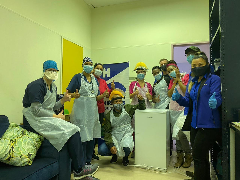 Pop-Up Pediatric COVID-19 Unit opens in Paarl