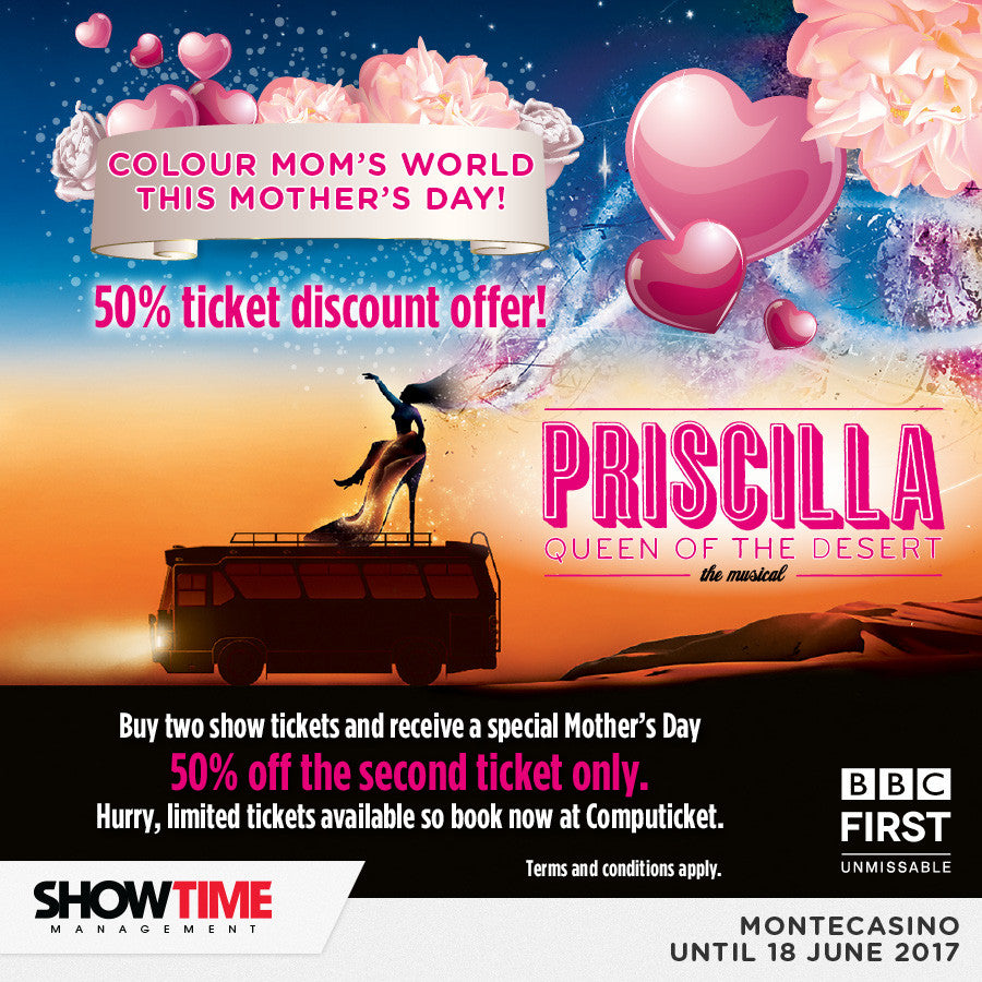 Mother's Day or Any Day, Don't Miss the Priscilla Bus!
