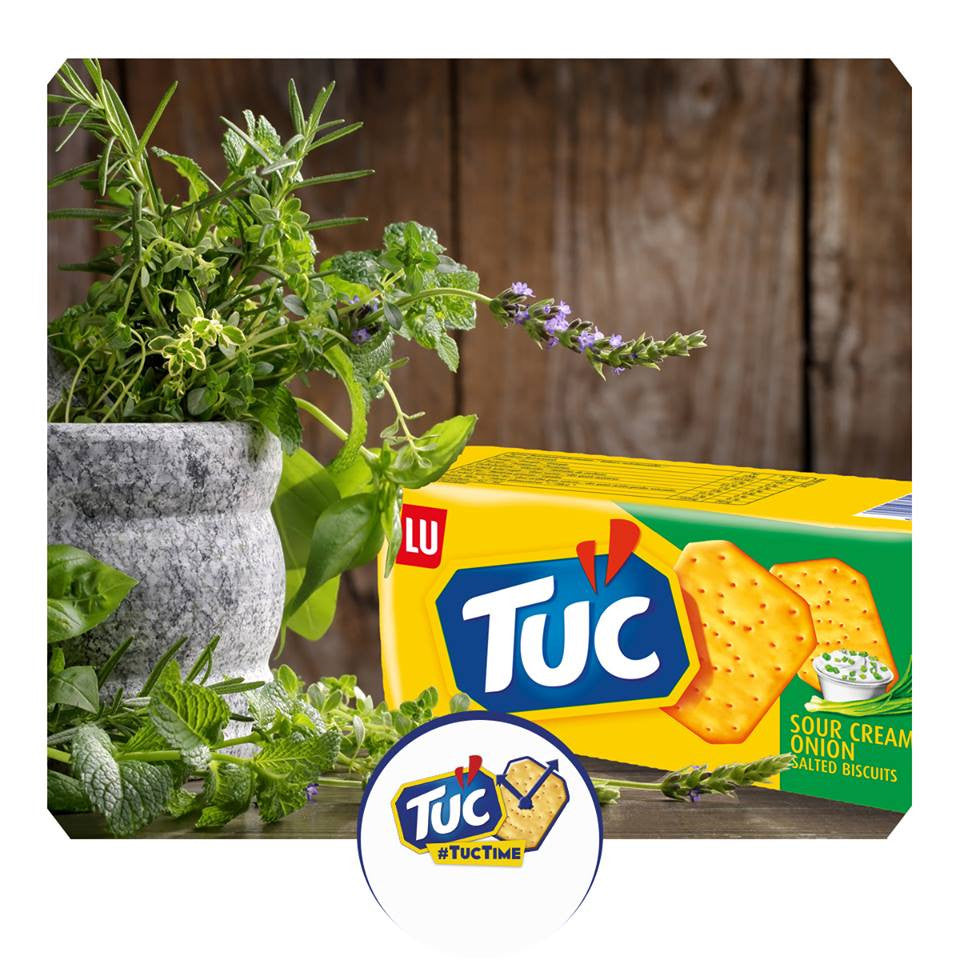 TUC - New Sour Cream & Onion