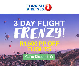 Turkish Airlines 3 Day Flight Frenzy
