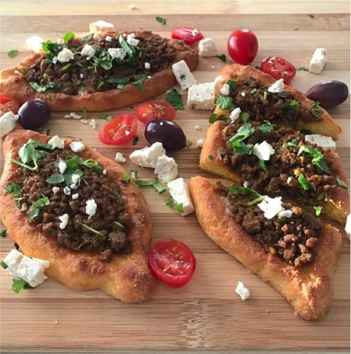 Recipe: Low Carb Mince Pide