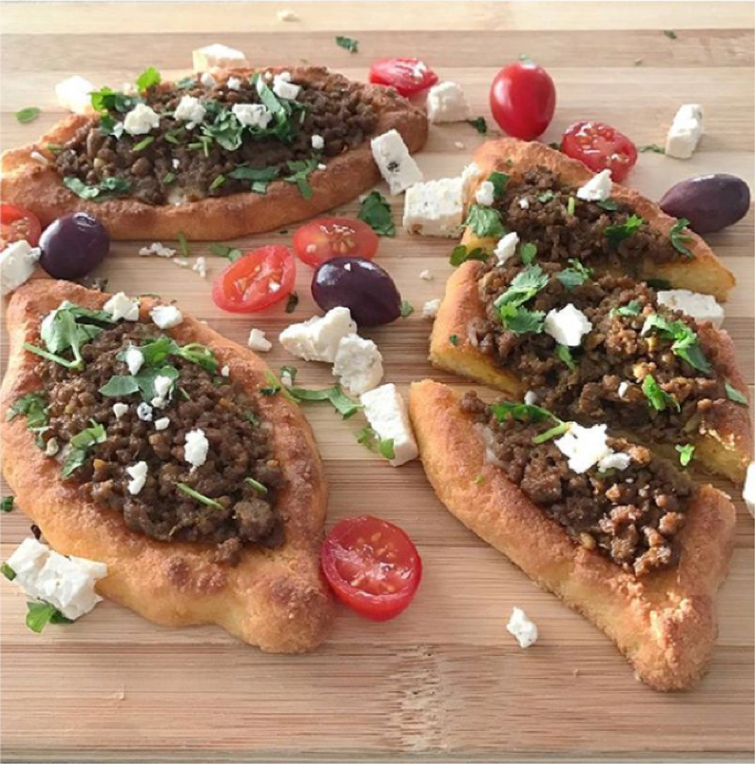 Recipe: Low Carb Mince Pide by Aniseeds
