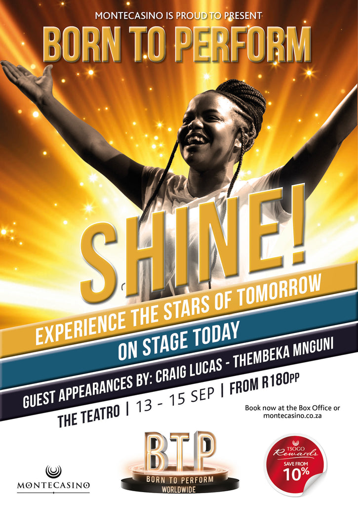 Born To Perform's SHINE! Dynamic Young Talent ready to set the stage alight this September