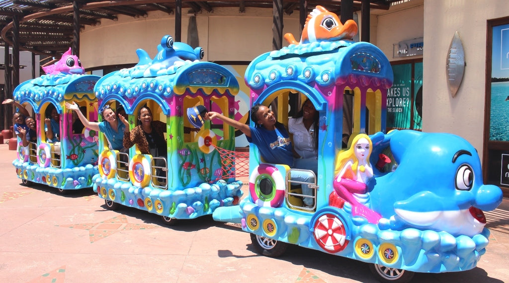 Ocean Express keeps fun on track at uShaka Marine World!