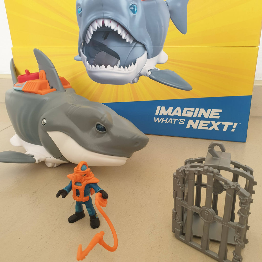 Imaginext: Imagine What's Next with the New Mega Bite Shark