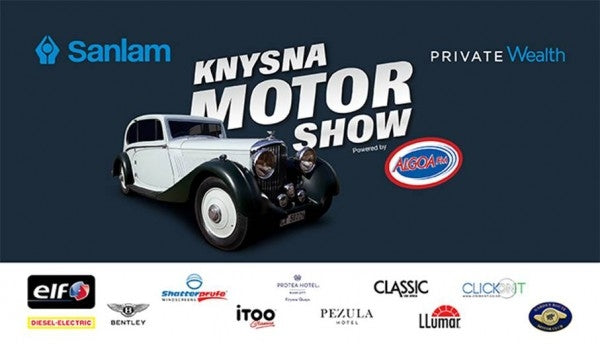 THE GREATEST NAMES IN MOTORING HEAD FOR THE KNYSNA MOTOR SHOW ON APRIL 28, 2019