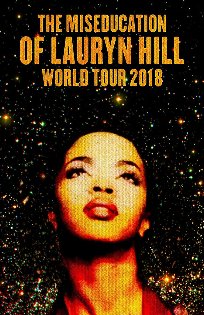 Ms. Lauryn Hill announces South African date of the Miseducation of Lauryn Hill 20th Anniversary World Tour