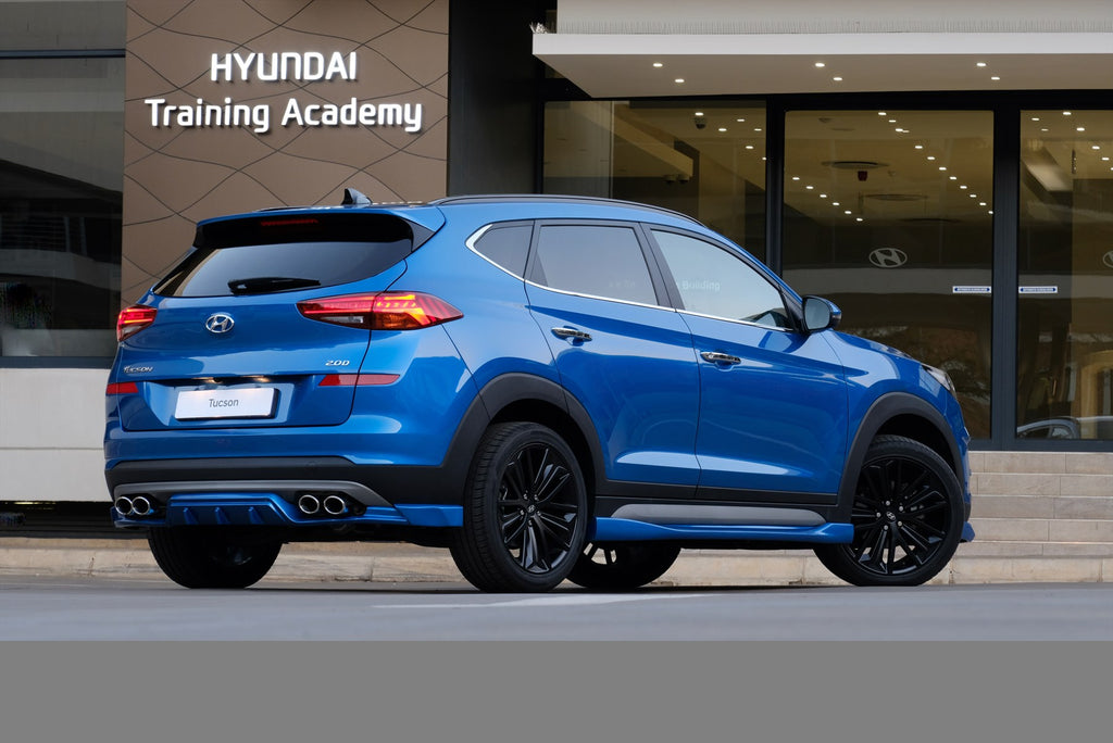 Hyundai Launches Hot New Tucson Sport