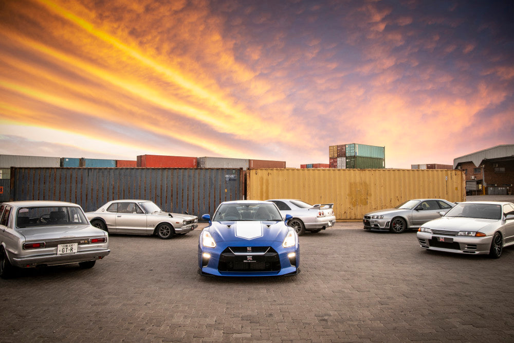The iconic GT-R 50th Anniversary Limited Edition arrives in South Africa
