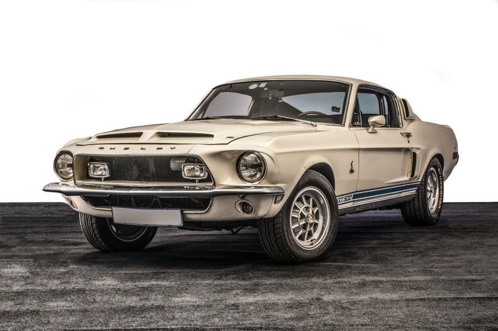 Global Interest Expected for Unmolested Shelby Mustang at the Concours South Africa 2018 Auction on 11 August