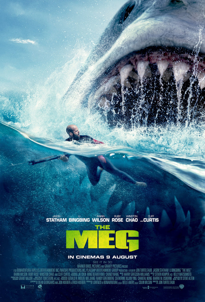 The Meg will greet with you its mouth wide open at Ster-Kinekor Cinemas!