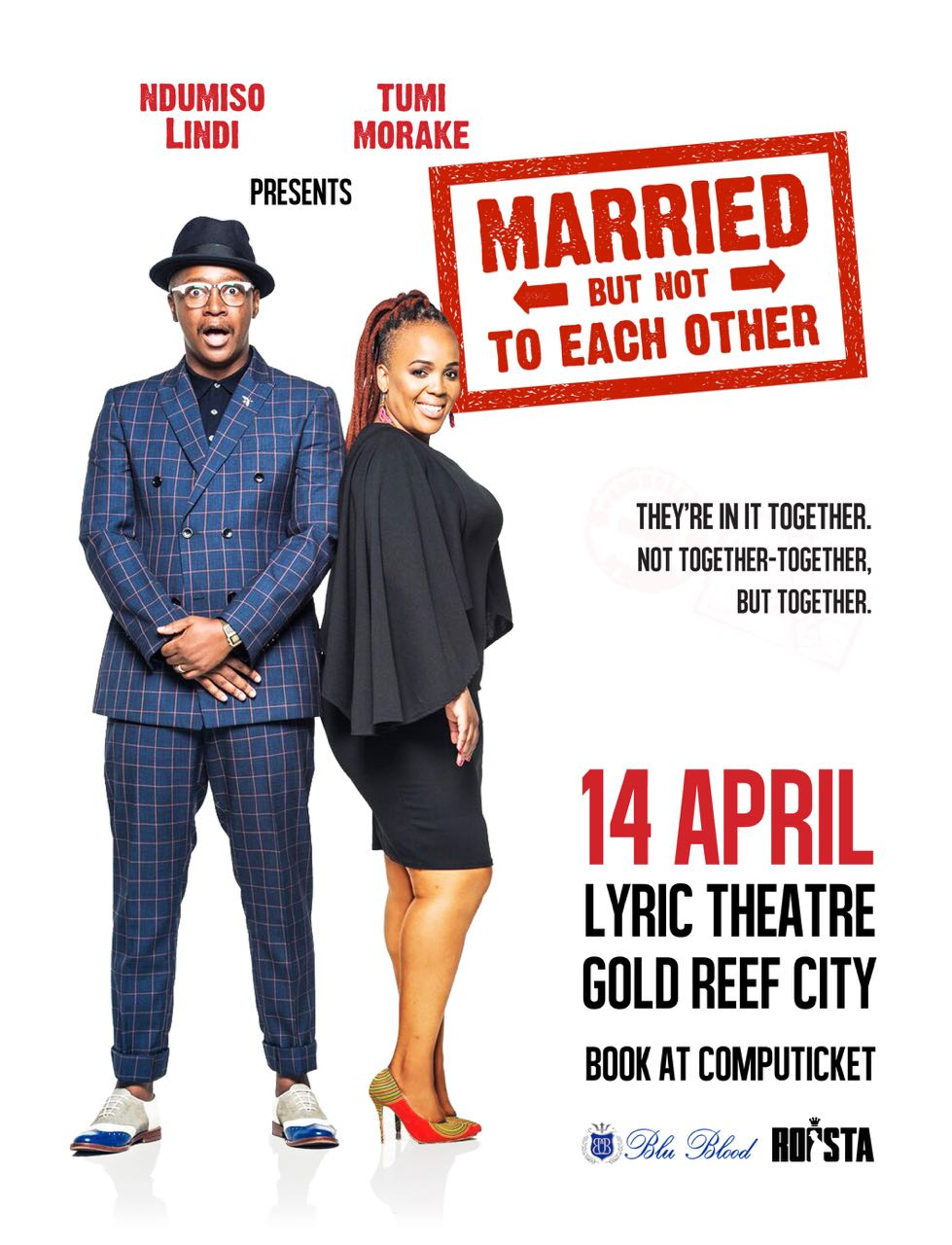 Ndumiso Lindi & Tumi Morake are Married   But Not To Each
