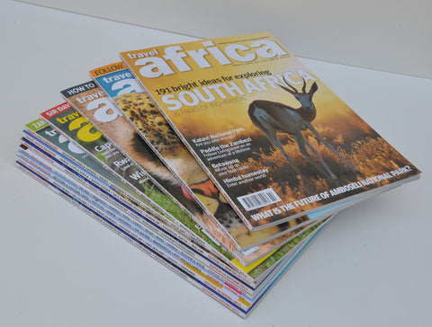 Stack of South African Magazines